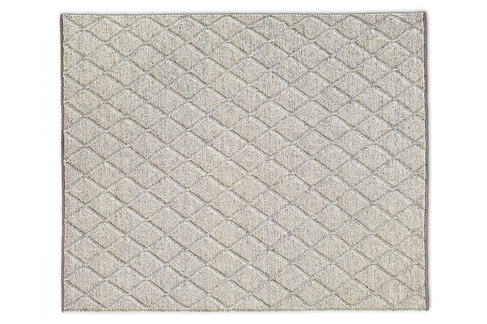 Gibbston Grey Wool Viscose Rug