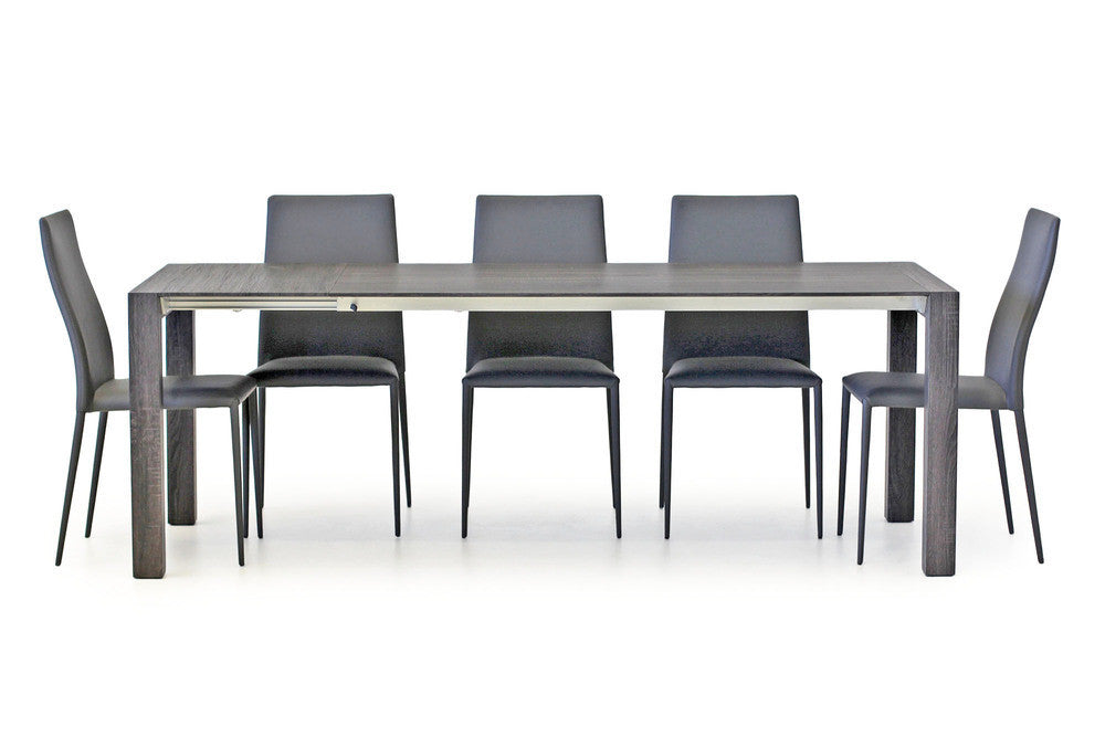 Scacco Extn Dining Table Grey Wash