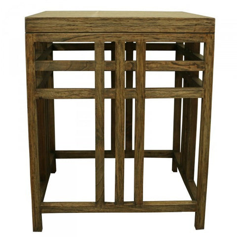 Lewis Side Table Old Wood Dark