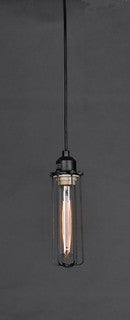 Industrial Hanging Light W Edison Bulbs