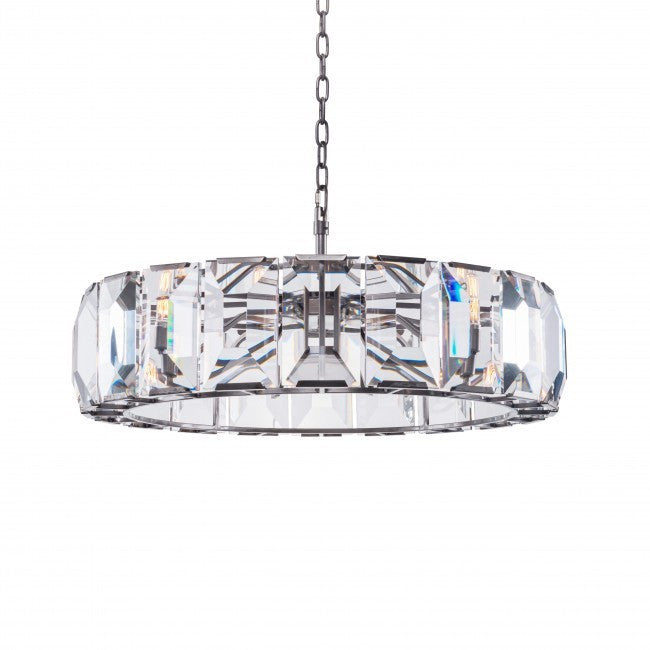 Facet Crystal Chandelier Medium