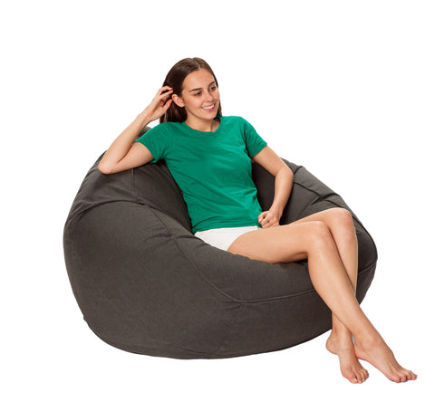 Marine Bean Bag XL Slate