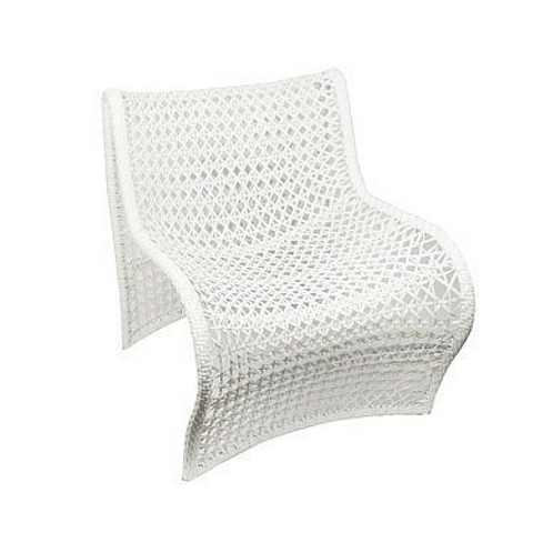 Wave Outdoor Chair White