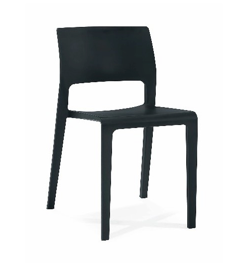 Sintel Outdoor Chair Black