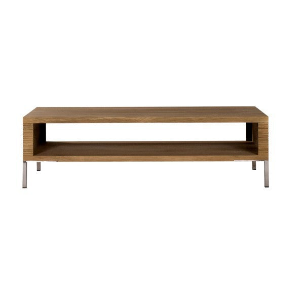 Oak Stonecut Coffee Table B