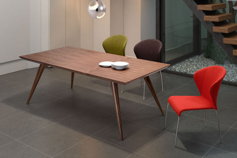 Stockholm Rectangle Dining Table Walnut