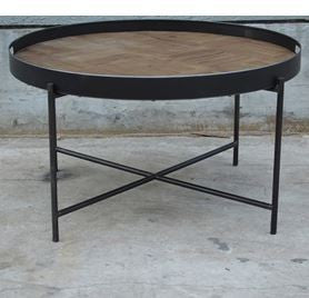 Wood & Metal Table