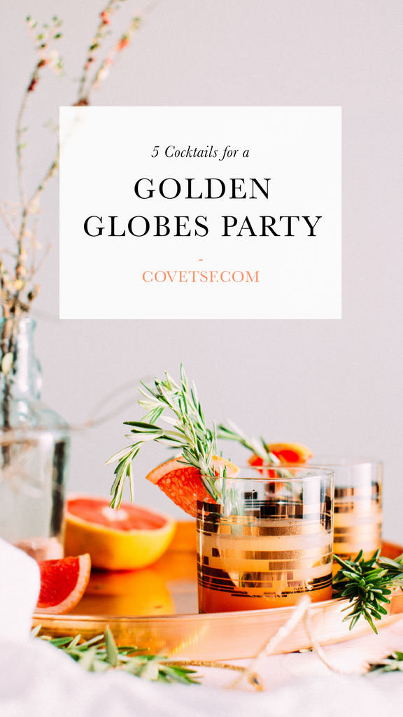 Golden Globes Inspired Cocktails