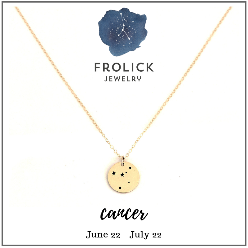 Cancer Constellation Necklaces