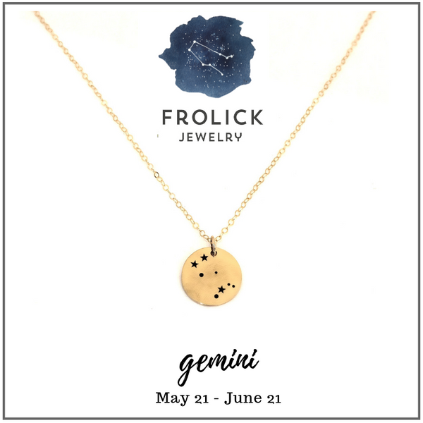 Gemini Constellation Necklaces