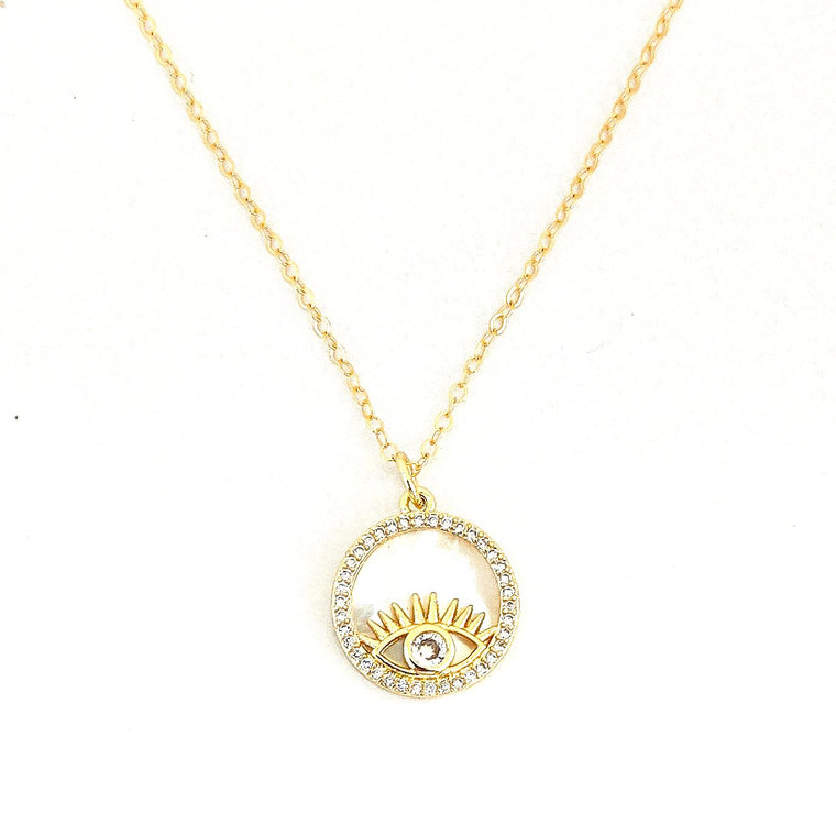 Mia Eye Necklace