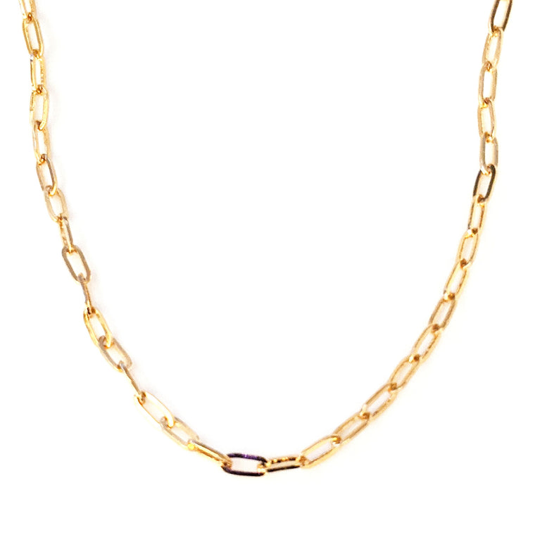 Ranni Rectangle Link Necklace
