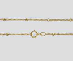 Satellite Chain Necklace 16""