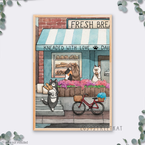 "Bakery Storefront Print (12""x18"")"