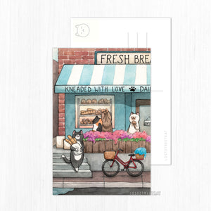 Bakery Front Postcard