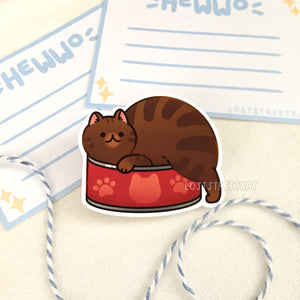 Canned Food Club Stickers Set (Tiny) - Loststreetkat
