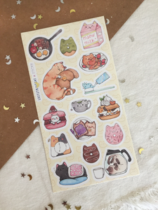 Good Morning Sticker Sheet - loststreetkat