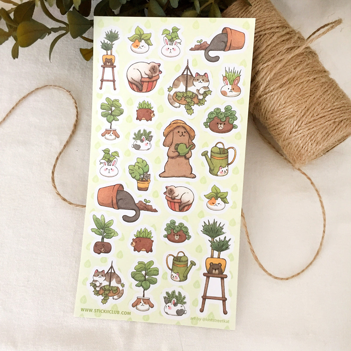 Secret Garden Sticker Sheet
