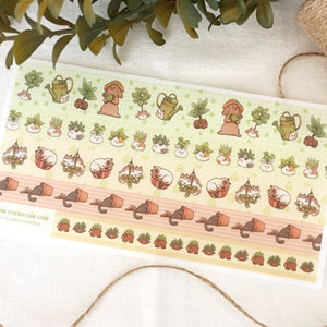 Secret Garden Washi Tape Sheet