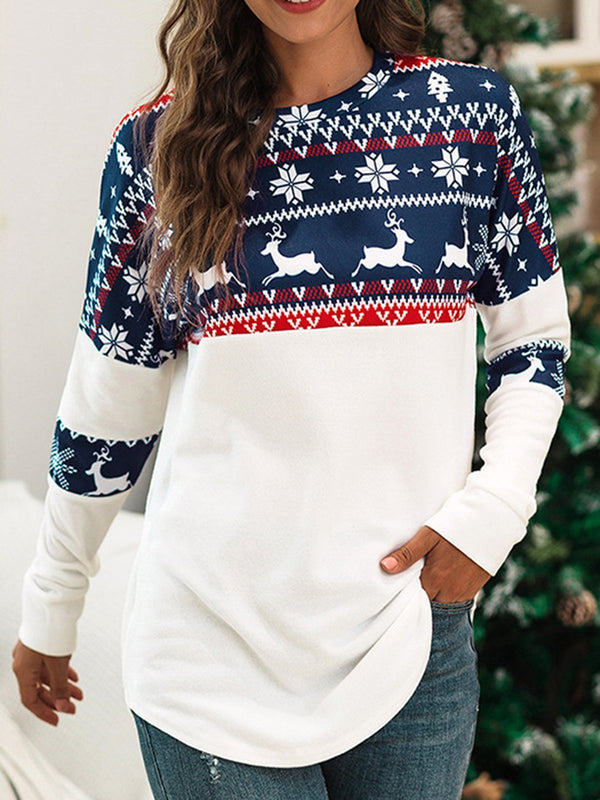 Christmas Long Sleeve Tops