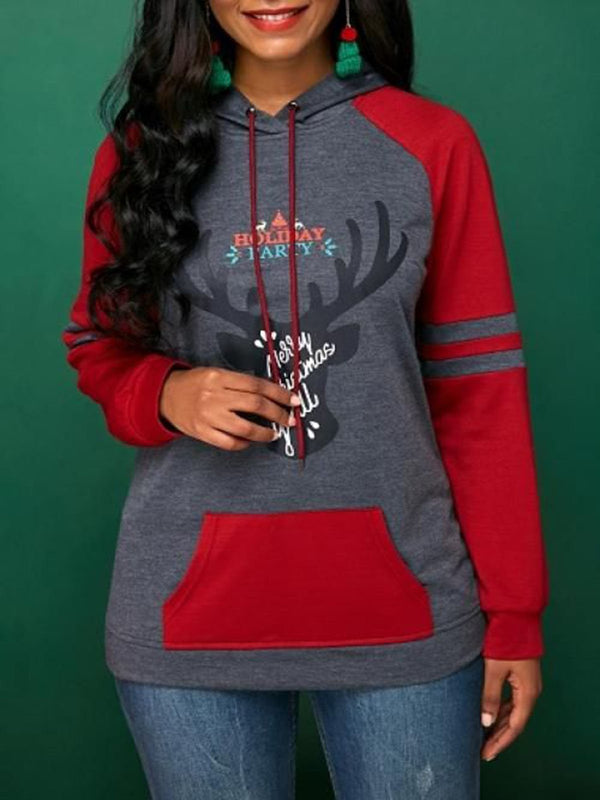 Women Gray Casual Long Sleeve Sweatshirt