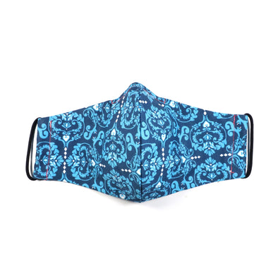 Reusable Cotton Mask - Blue
