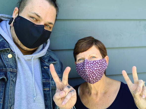 Reusable Cotton Mask - Earth