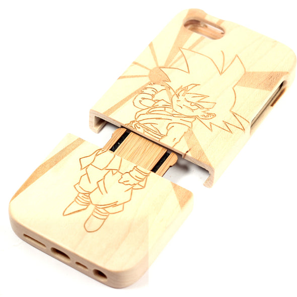 Dragonball GT Goku iPhone 4/4S case Maple - BC Plugs  - 2