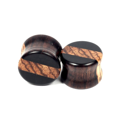 Stripe inlays AB/ZW - BC Plugs  - 1