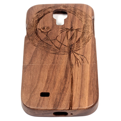 Jack Skellington Galaxy S4 Walnut - BC Plugs  - 1