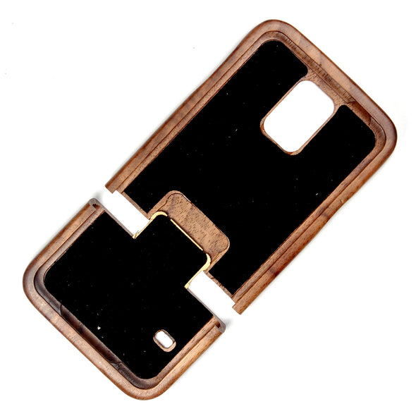 Samsung Galaxy S5 Walnut - BC Plugs  - 3