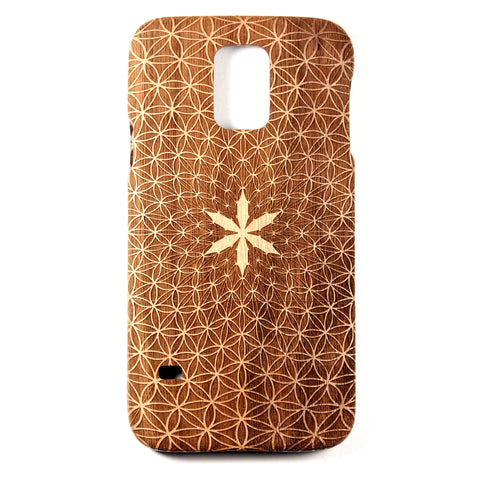 Samsung Galaxy S5 Walnut Flower of Divinity - BC Plugs  - 1