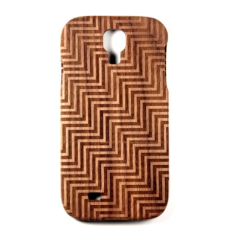Galaxy S4 Walnut Divine - BC Plugs  - 1
