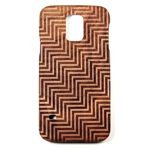 Samsung Galaxy S5 Walnut Divine - BC Plugs  - 1