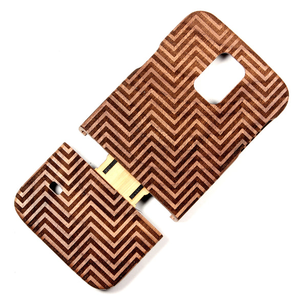 Samsung Galaxy S5 Walnut Divine - BC Plugs  - 2