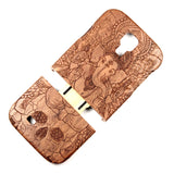 Galaxy S4 Walnut Ganesh Skull - BC Plugs  - 2