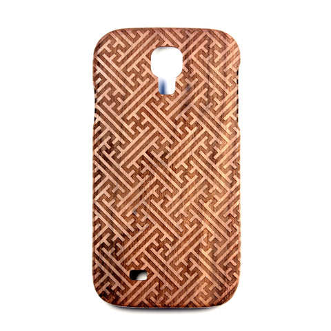 Galaxy S4 Walnut Sayagata - BC Plugs  - 1