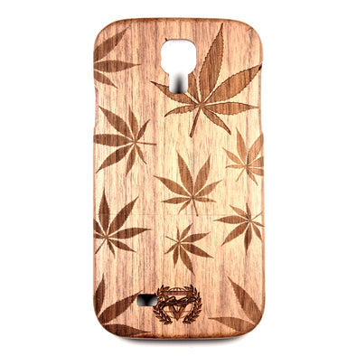 Galaxy S4 Walnut Cannabis - BC Plugs  - 1