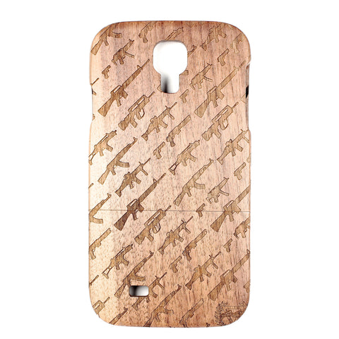 Galaxy S4 Walnut Artillery - BC Plugs  - 1