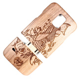 Galaxy S5 Walnut Koi - BC Plugs  - 2