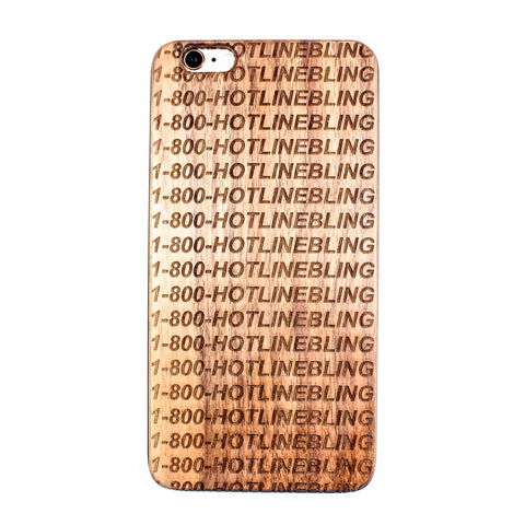 Hotline Bling iPhone 6 plus /6S plus case - BC Plugs  - 1