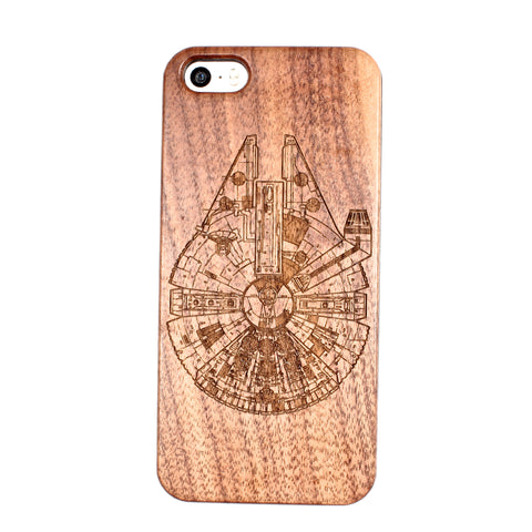 MIllenium Falcon iPhone 5/5S/SE case - BC Plugs  - 1