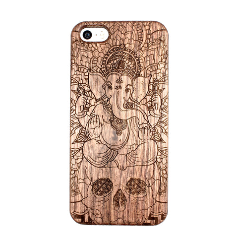 Ganesh iPhone 5/5S/SE case - BC Plugs  - 1