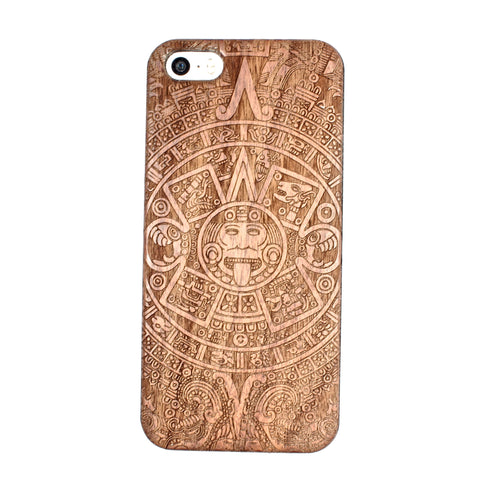 Aztec Calendar iPhone 5/5S/SE case - BC Plugs  - 1