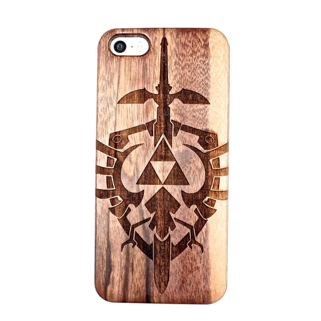 Triforce iPhone 5/5S/SE case - BC Plugs  - 1