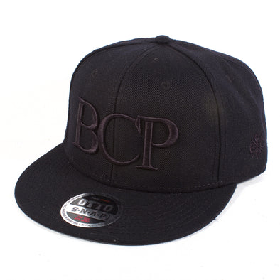 BCP Blackout Snapback - BC Plugs  - 1