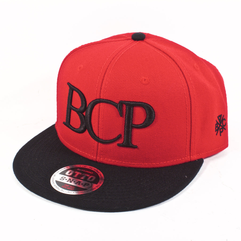 BCP Red Snapback - BC Plugs  - 1
