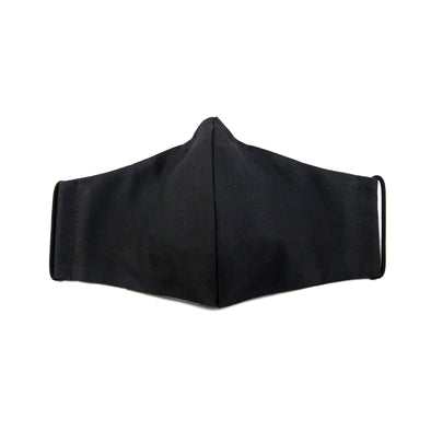 Reusable Cotton Mask - Triple Charcoal