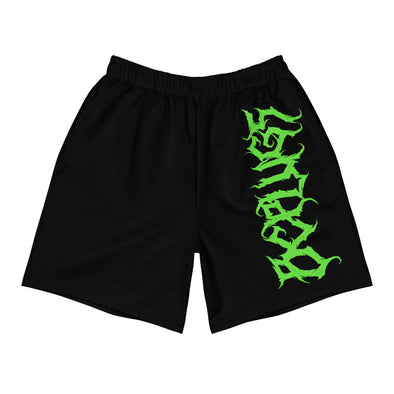 Death Metal logo Athletic Shorts