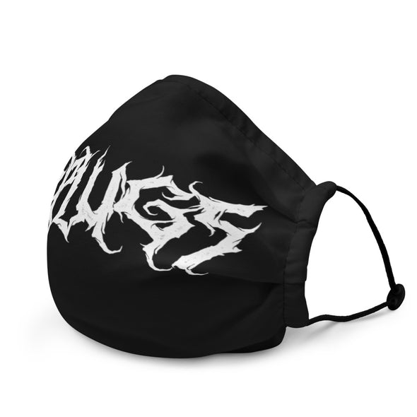 Death metal logo mask